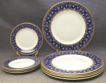 9 Minton porcelain plates