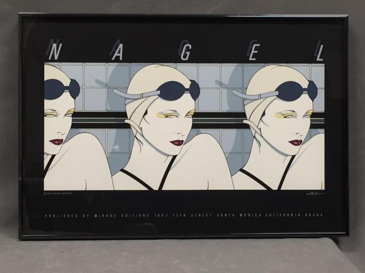 Patrick Nagel 1979 serigraph poster