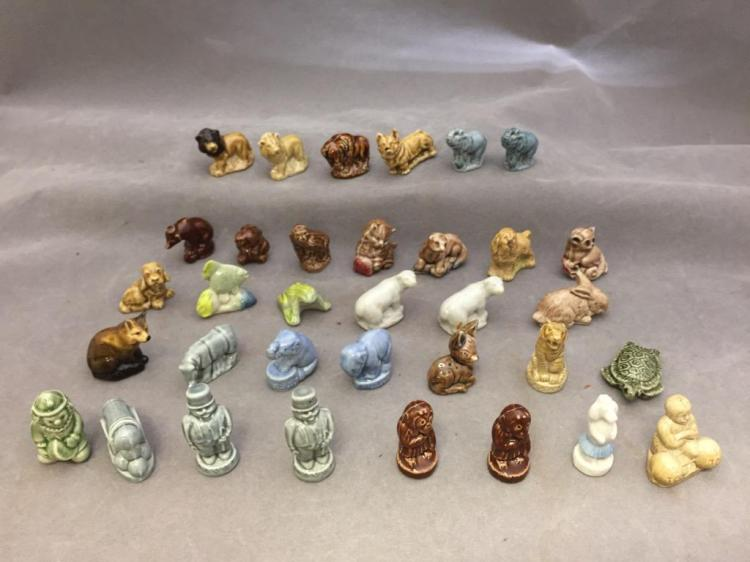 Lot of (34) English Wade porcelain figurines