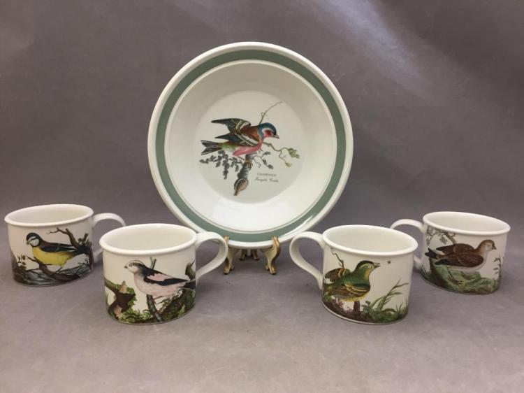Lot of 8 Portmeirion porcelain items