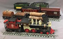 Jim Beam Whiskey train set w/9 cars-bottles and track with original boxes paperwork