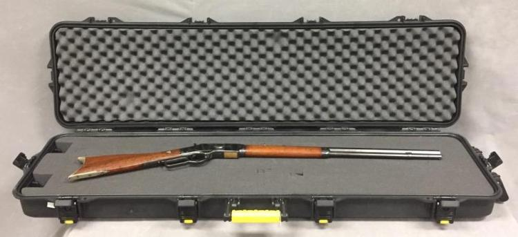 Winchester Model 1873 .38 caliber rifle w/24