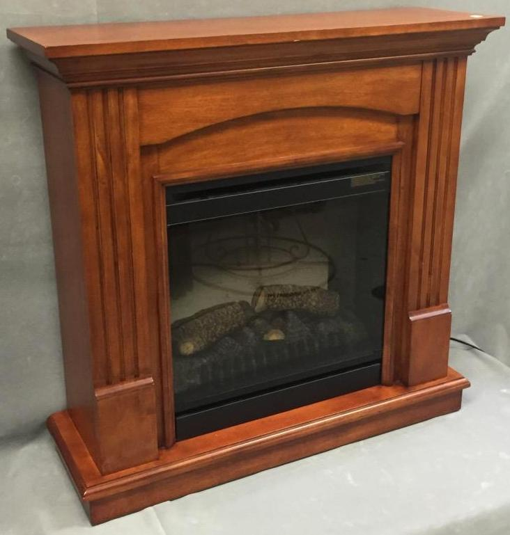 Dimplex Co. electric fireplace, works great
