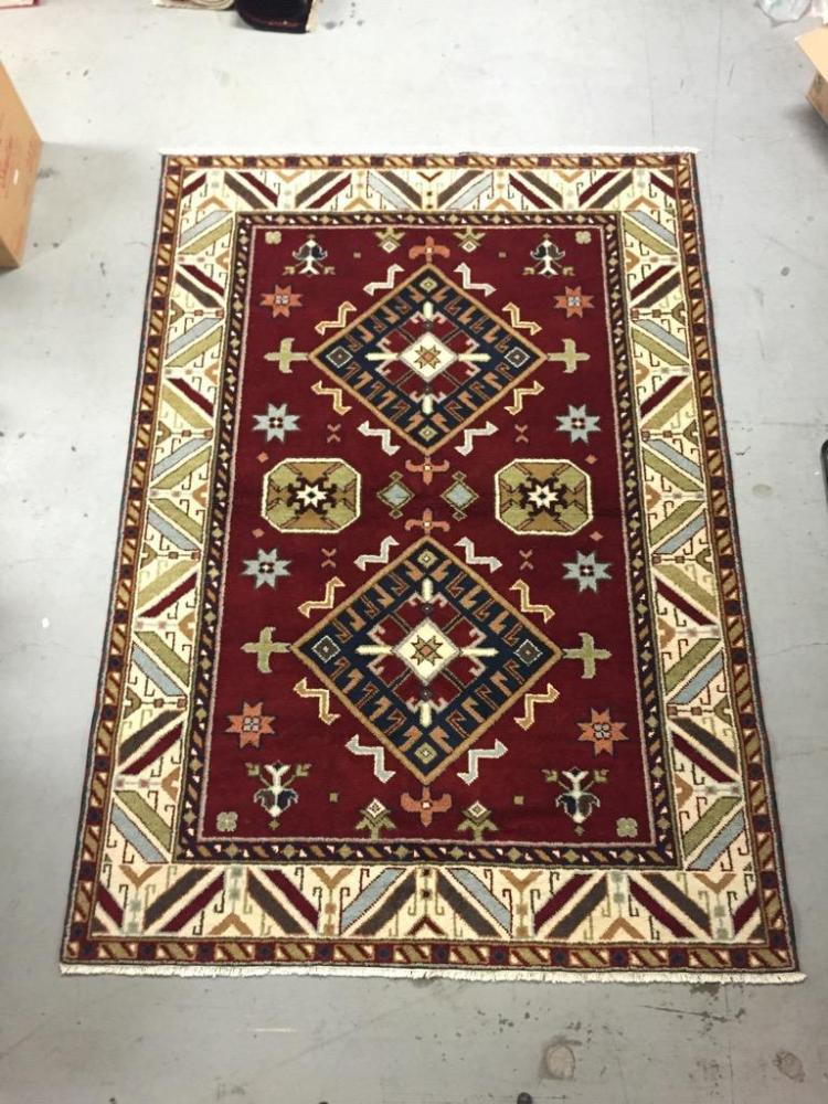 Persian-style wool area rug, New