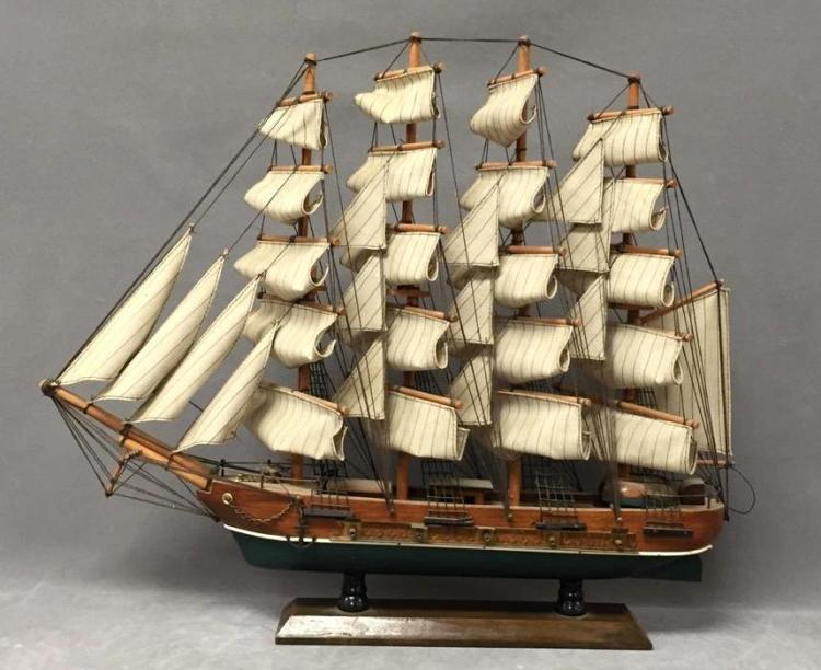 Vintage model clipper ship