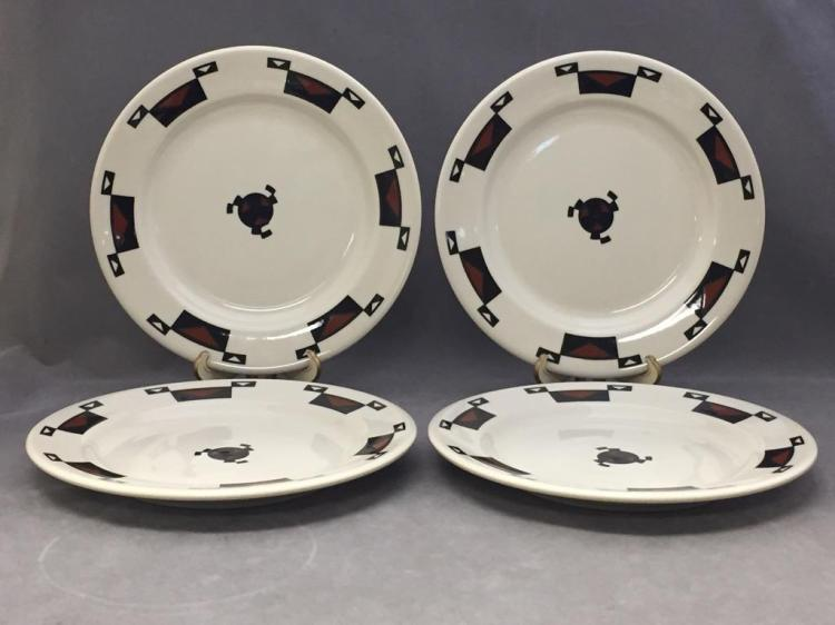 4 Ahwahnee Hotel of Yosemite dinner plates