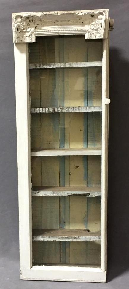 Beautiful shabby chic display case