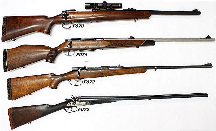 F70 -  458lott A-Square Rifle Built on P17 Enfield action with