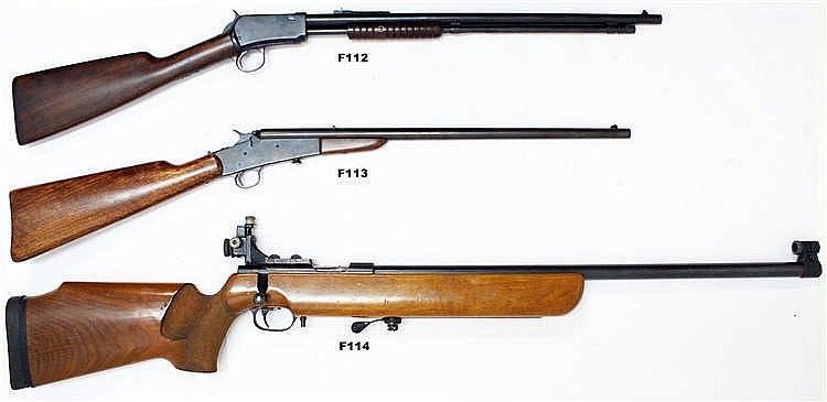 F114 - .22lr Walther Target Rifle