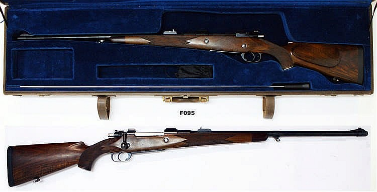 F95 -  416 Rigby Mauser Rifle - Cased
