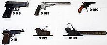 D190 - 7mm Pinfire Revolver -  Pre 1898