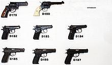 D187 - 9mmp CZ 75 Pistol