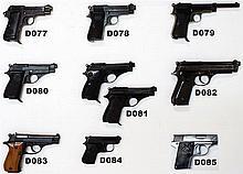 D81 -.22lr Beretta Mod 70 Pistols X 2