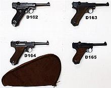 D163 - 9mmp Luger P-08 Service Pistol