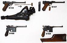 D166 - 9mmp Artillery Luger Pistol