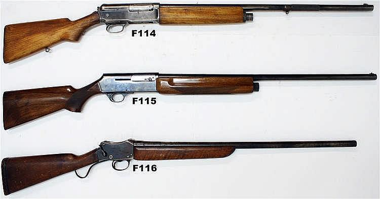 F114 - 12ga Winchester Mod 1911.S.L Shotgun