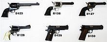 D125 - .45 Colt SA Army Revolver