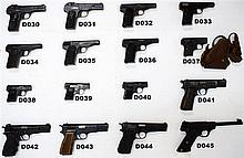 D34 - 7.65mm FN Browning Mod 1910 Pistol