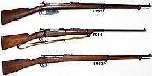 F50 - 7,65 mm Argentinian Mod 1891 Mauser Service Rifle