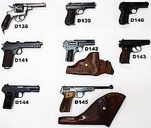 D138 - 10,35mm Glisenti Italian Mod 1889 Service Revolver