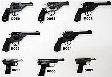 D66 - 9mm Webley & Scott Ltd Mod 1922 Pistol