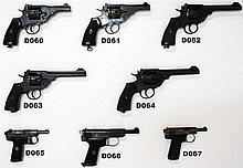 D60 - .455 Webley & Scott Mk VI UDF Service Revolver