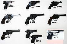 D75 - 9mmk Beretta M1934 Service Pistols x 2