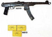A15 - Deactivated 7,62mm PPSH43 SMG
