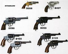 D100 - .38 Smith & Wesson Victory Mod Service Revolver x2