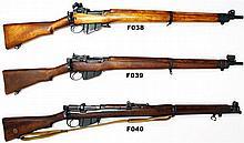 F38 - .303 Lee Enfield No. 4 Mk 1* Service Target  Rifle