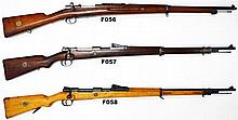 F57 - 8x57mm Mauser KS Gewehr 98 Service Rifle