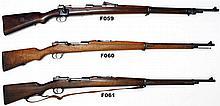 F61 -6,5x58mm Portuguese Mauser Mod 1906  Rifle