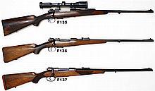 F137 - 9,3x62mm Oberndorf Mauser Ribbed Octagonal  Rifle
