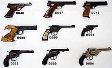 D50 - .22lr Webley MkIV Revolver
