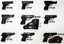 D153 - 7,65mm Walther Mod PPK Pistol