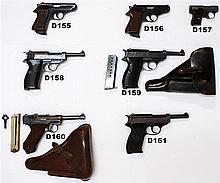D160 - 9mmp Luger  P08 Service Pistol