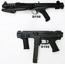 D198 - 9mmp Sterling Mk 4 (L2A3)  SMG