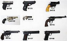 D115 - .455eley Colt Bisley Flat-Top Target Revolver