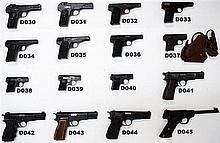 D41 - 9mmp FN Browning HP Pistol