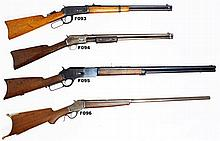 .38/55 Winchester 1885 Hi-Wall Target Rifle - Auction Lot Number: F96