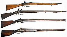 B11 - 10ga Beckwith Flintlock Rifle