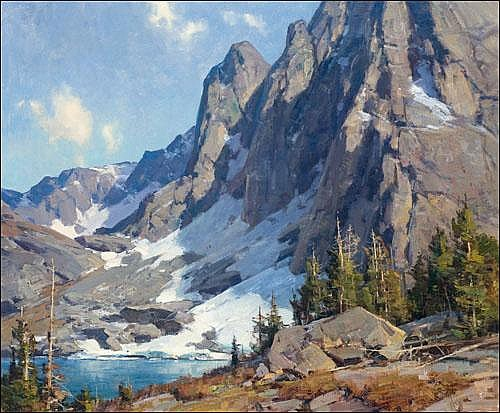 Aspevig, Clyde: High in the Wind River Range