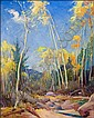 Cassidy, Gerald: Wind in the Trees 1932 Signed, Gerald Cassidy, Click for value