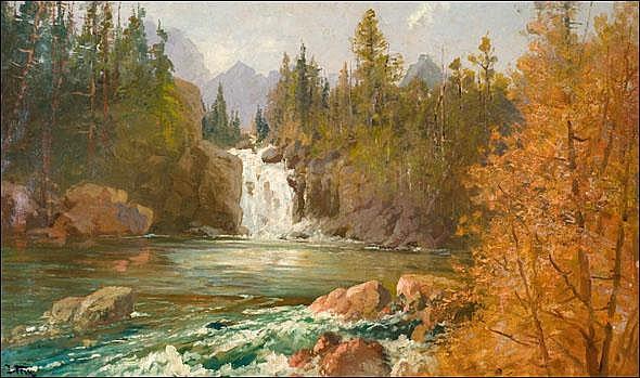 Fery, John: Red Eagle Falls on Red Eagle Creek