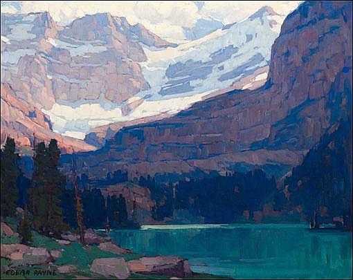 Payne, Edgar: View of the Glacier & Palisades