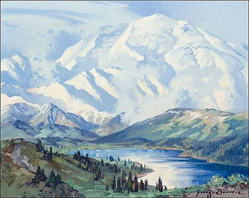 Browne, George: Mt.McKinley from the East........