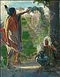Phillips, Bert Geer: The Enchantress Signed l.r., Bert Geer Phillips, Click for value