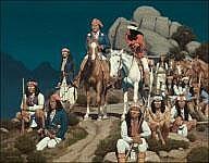 DAVID NORDAHL (b. 1941) Geronimo Waiting for the