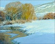 LEN CHMIEL (b. 1942) Soft and Fuzzy oil on canvas