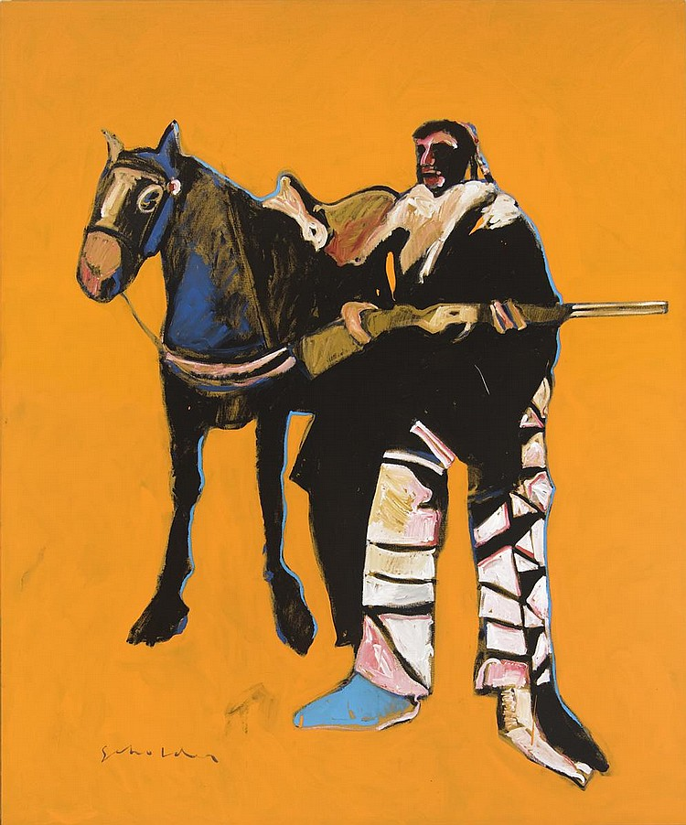 Rifle, Horse, Indian and ( 1975)